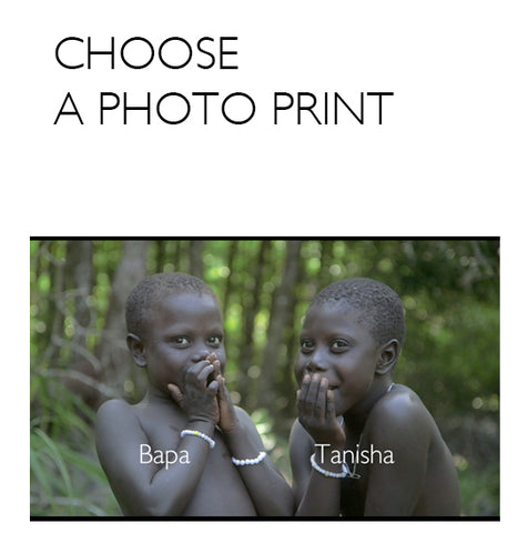 WE ARE HUMANITY, the Jarawa documentary - Photo prints
