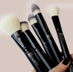 Cruelty free, pro quality FACE make up brush collection