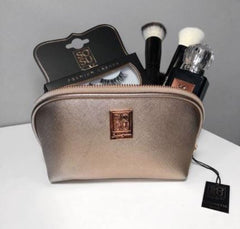 Rose gold make up bag, new in at SOSU by SJ