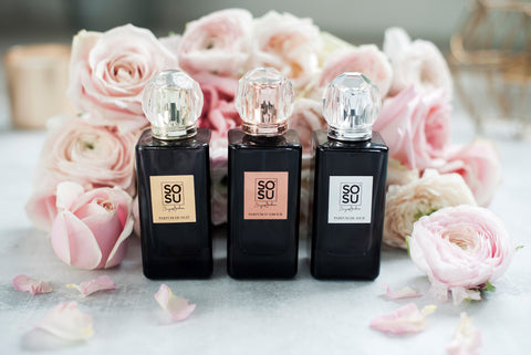 SOSU by SJ Fragrance Collection. The perfect perfume for a Valentine's gift!