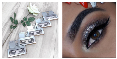 6fd4d5b0287 Our Deluxe lash range, sold in stunning silver boxes and also consisting of  five lash styles, offers length and definition. Wear the Mollie for a  natural ...