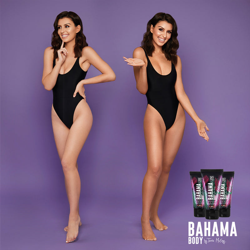 Bahama Body Instant Tan - Dark Matte