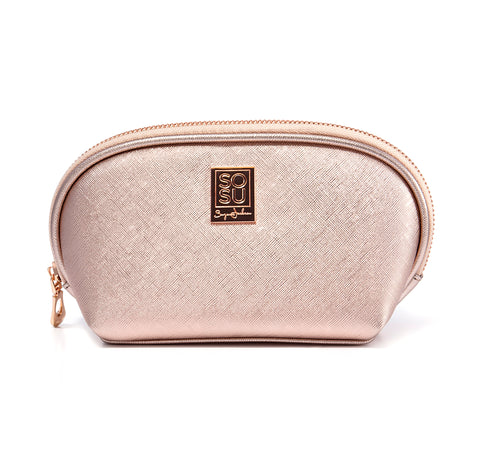 Rose Gold Make Up Bag