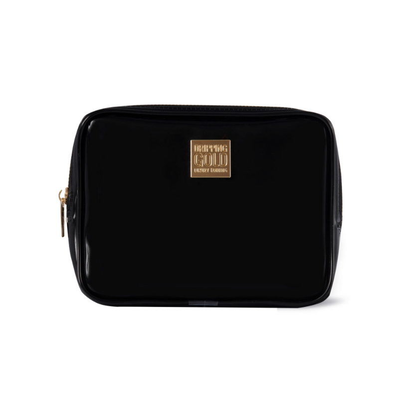 Small Black cosmetic bag