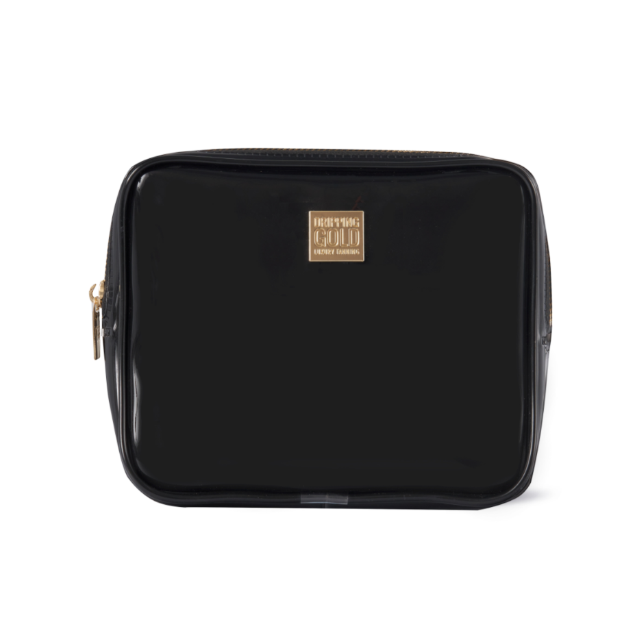 Medium Black cosmetic bag