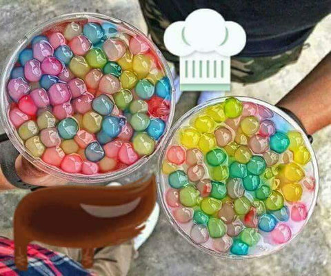 Rainbow Tapioca Pearls Wholesale