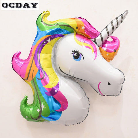 Unicorn Balloon (Rainbow)