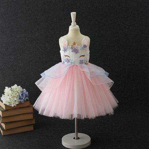 Unicorn Apparel (Girl Dress - Evening Gown)