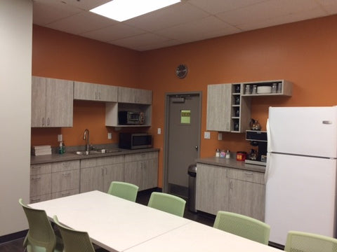 A&L Great Lakes breakroom
