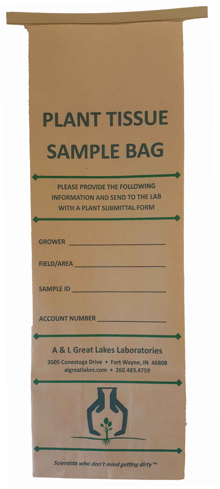 Plant Tissue Bag (Large) - A&L Great Lakes