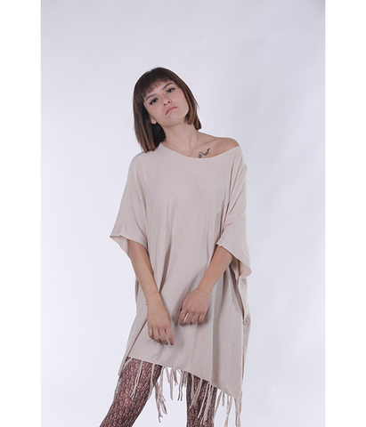 Hello Fringe Poncho/Top