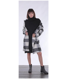 Jovie Plaid Coat