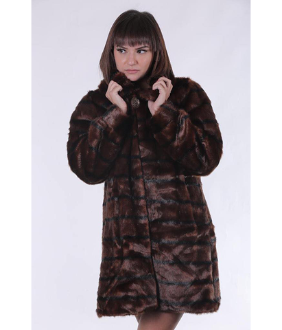 Leo Faux-fur Coat