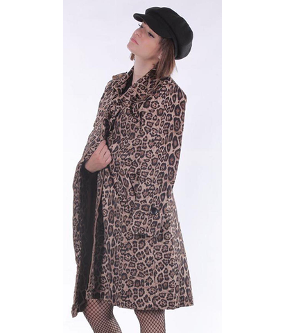Fierce Leopard Coat