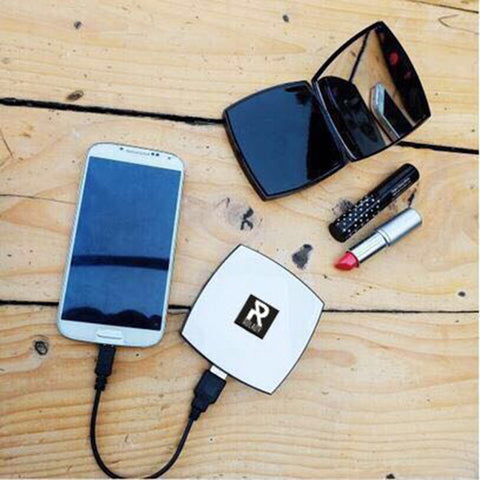 Rolady Stylish Lady Compact  Powder Power Bank