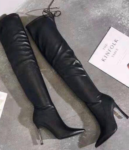 Francesca High-knee Boots