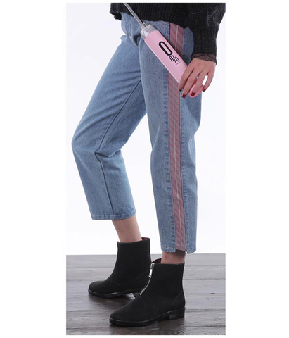 Fashion Pink Stripe Jeans