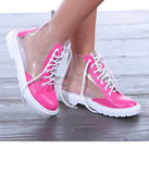 Jina Transparent Shoes