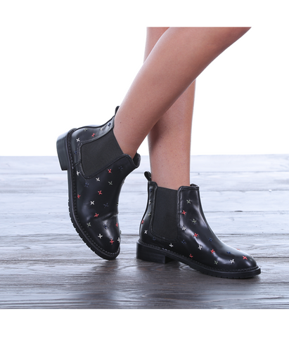 Rosie Black Demi Boot