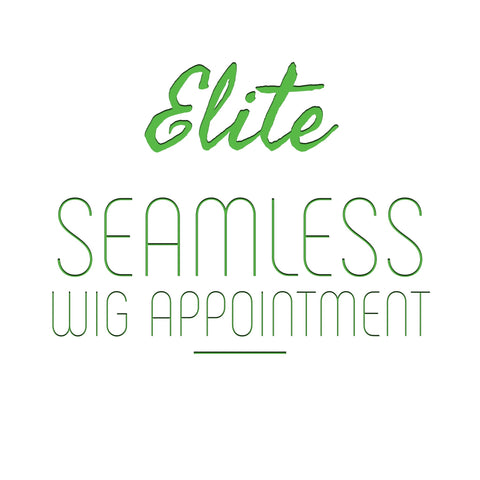 Elite Seamless Wig (Deposit Only)
