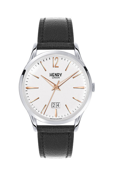 Henry London Herrenuhr Highgate HL41-JS-0067