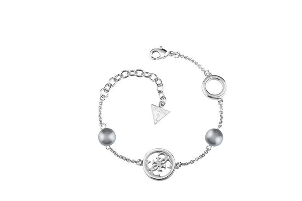 Guess Damenarmband Iconic Pearls UBB61019-S