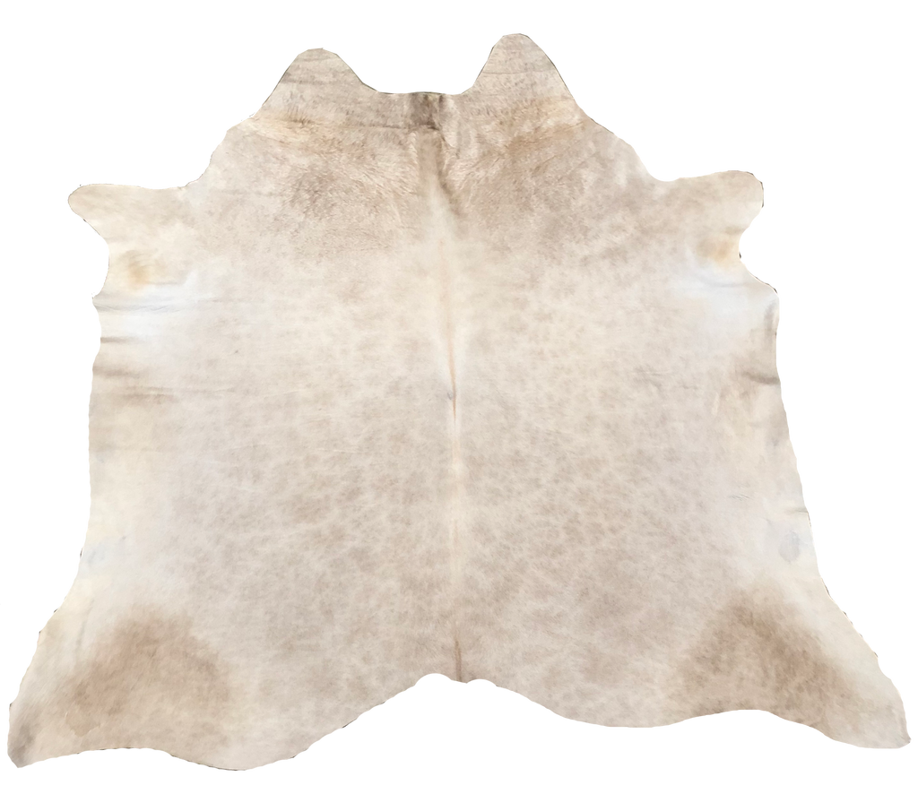 Tan with Shimmer Brazilian Cowhide Rug