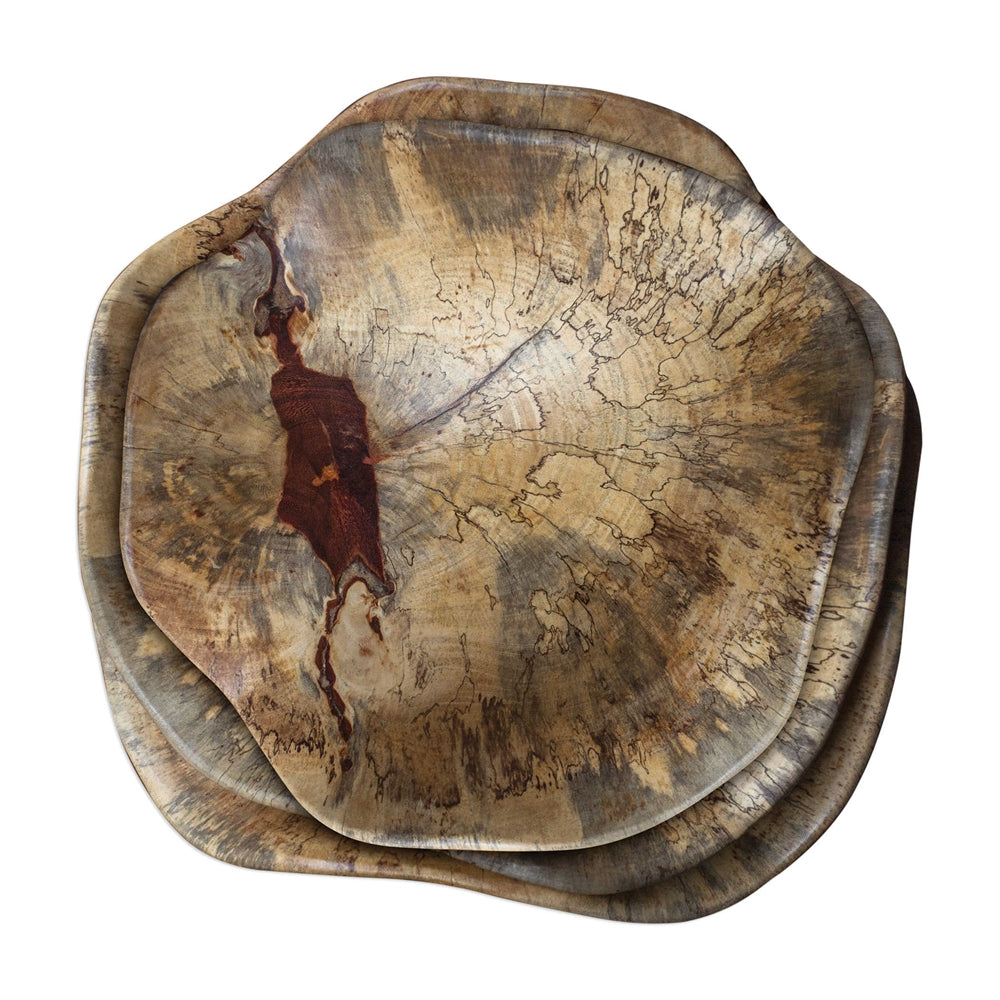 Wood Bowl Wall Decor
