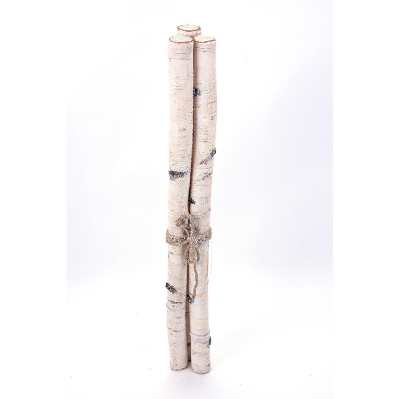 Faux Birch Log Bundle