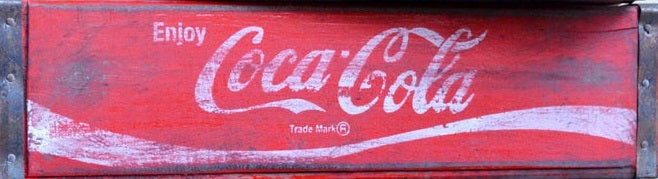 Coke Vintage Soda Crates