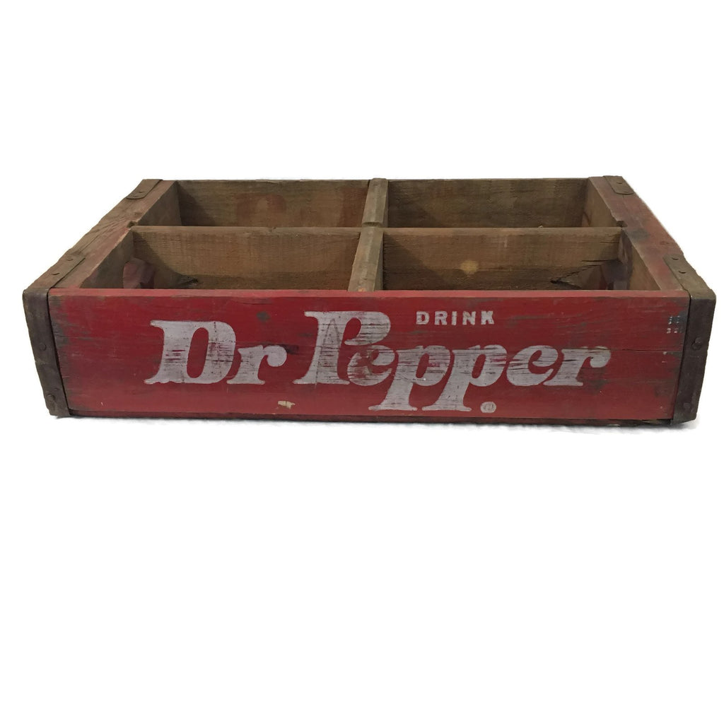Dr Pepper Vintage Soda Crates