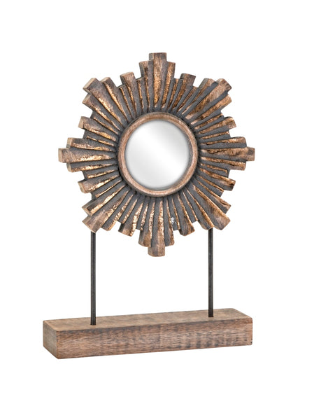 Kamelko Antiqued Mirror on Stand