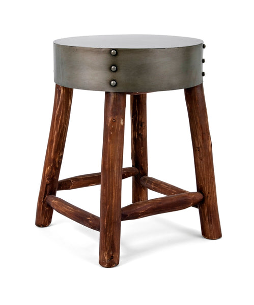 Damion Metal Top Stool