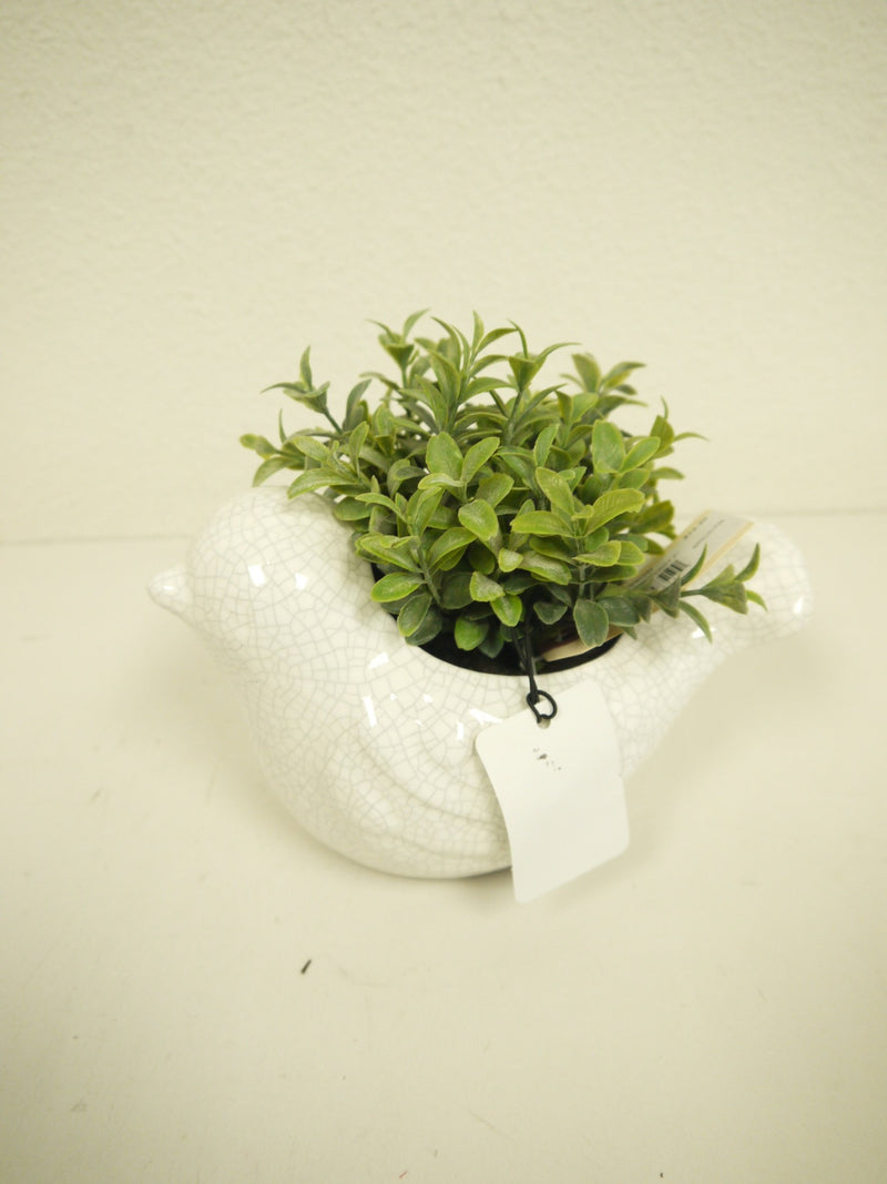 Bird Greenery Pot