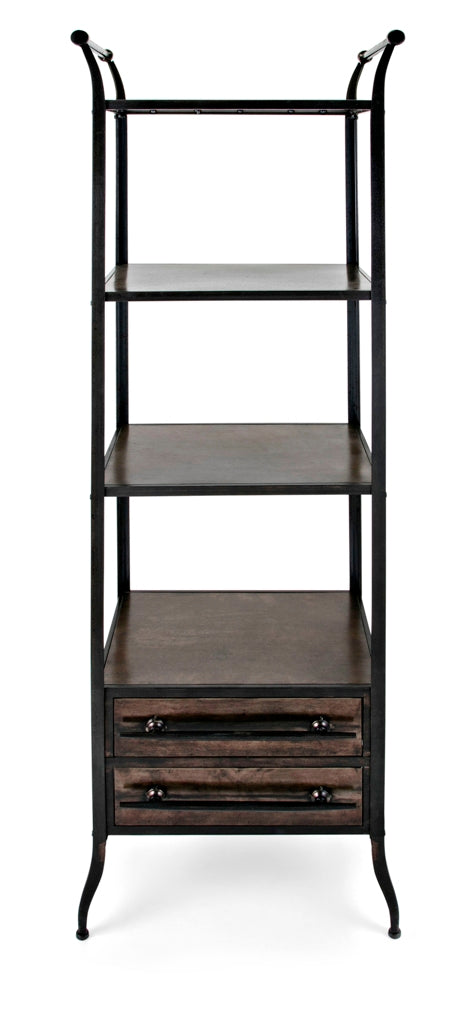 Oscart Metal Bookshelf