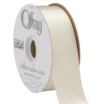 Antique White Satin Ribbon