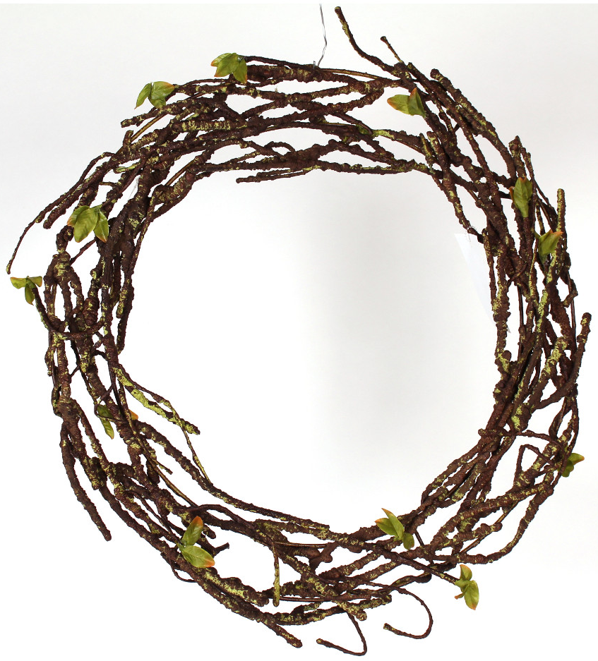 Willow Wreath with Wire - Paul Michael Company