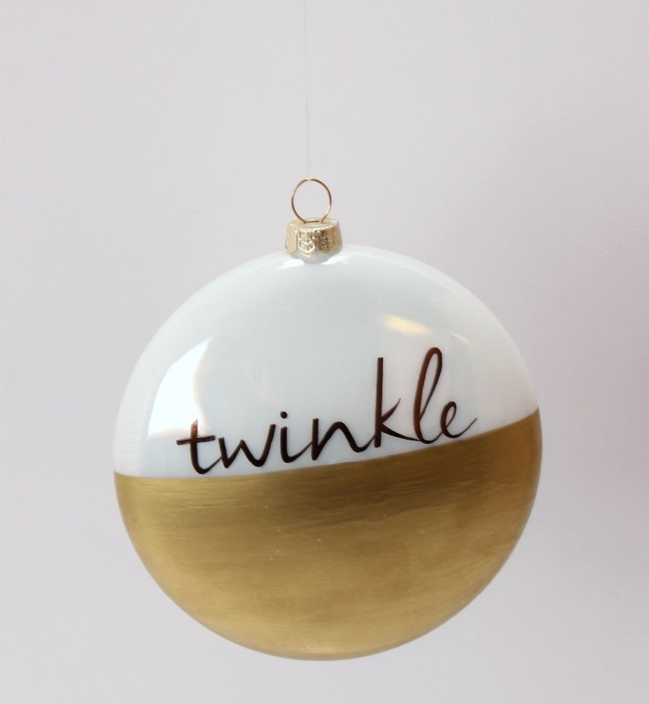 Twinkle Ball Ornament