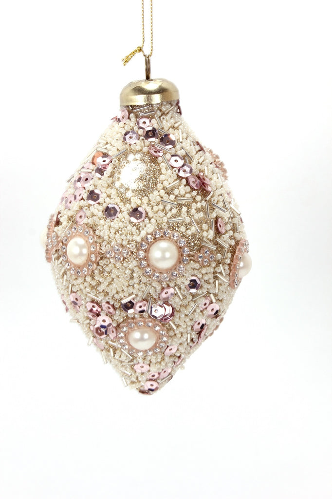 Emporium Ornament Blush Finial Ornament