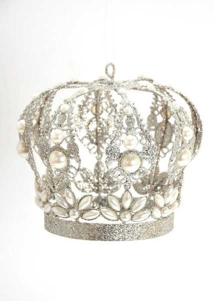 Pearl Crown Ornament