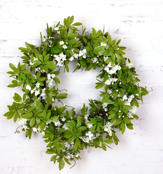 Green Spirea Wreath