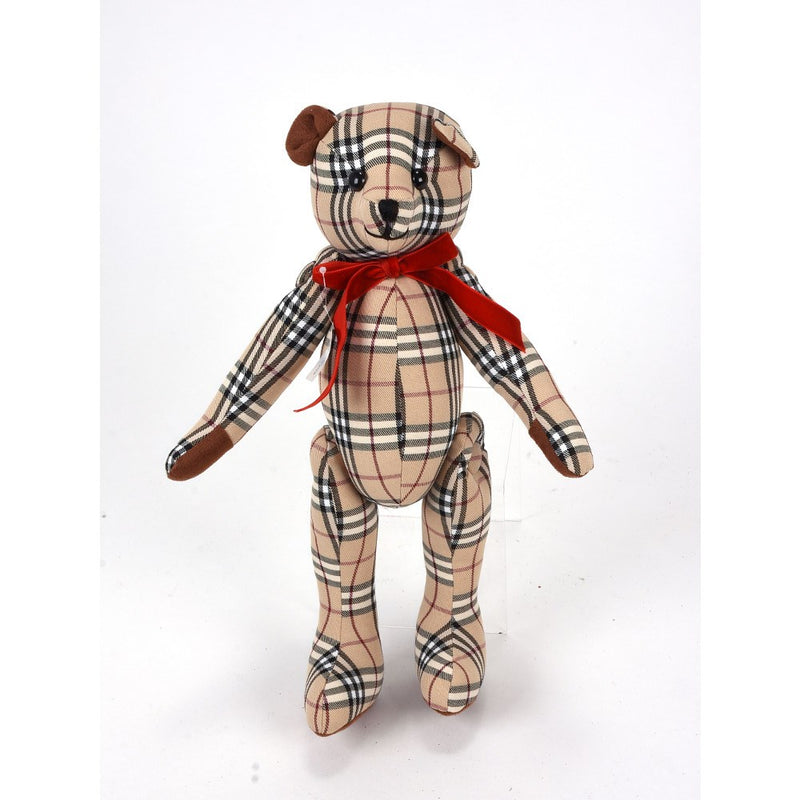 Plaid Teddy Bear