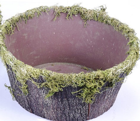 Round Moss Containers