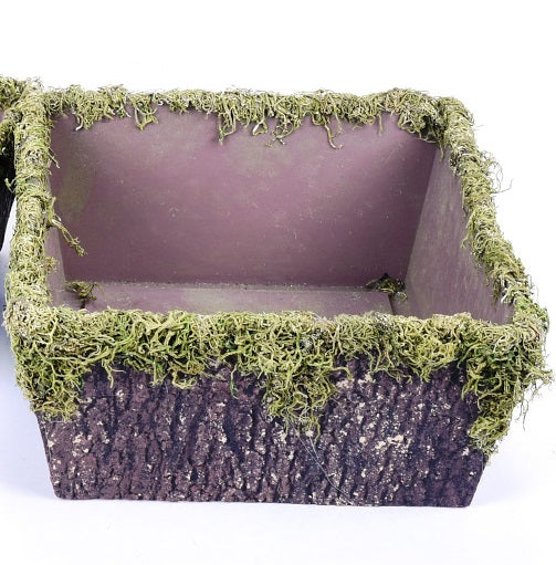 Square Moss Containers