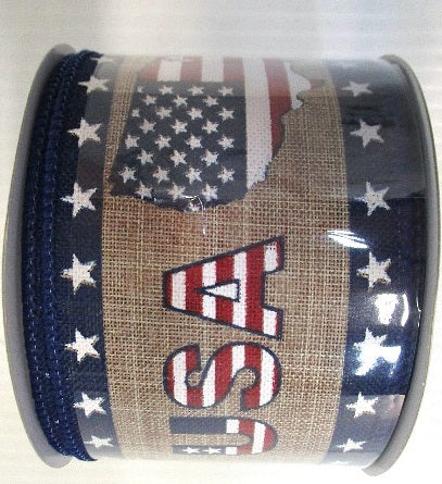 USA Linen Ribbon