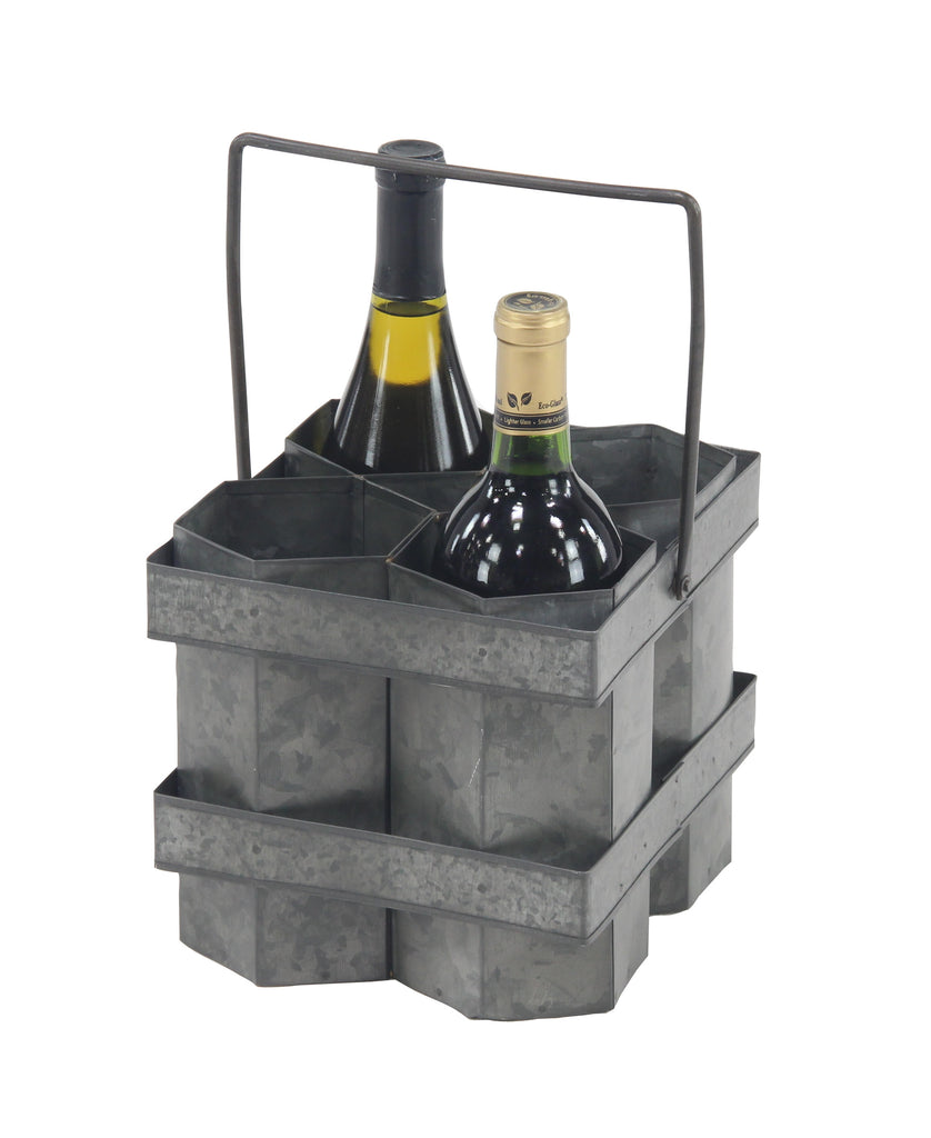 Metal Wine Caddy