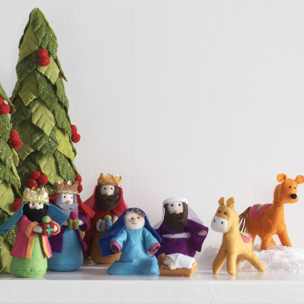 Whimsy Nativity