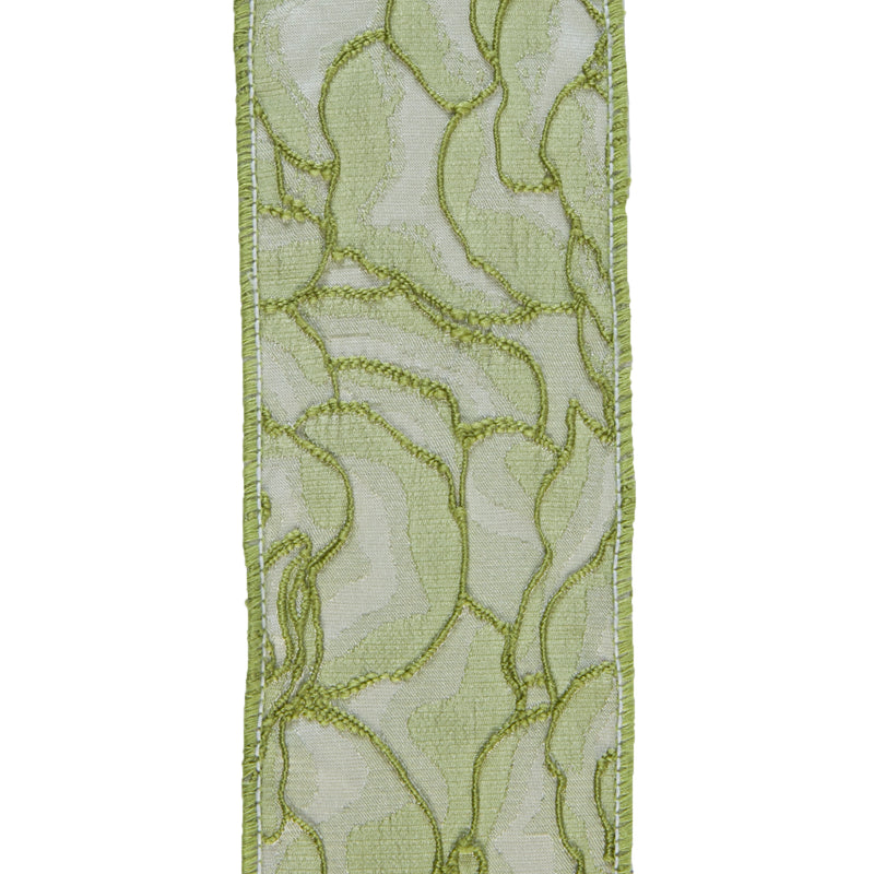 Lemongrass Wired Ribbon