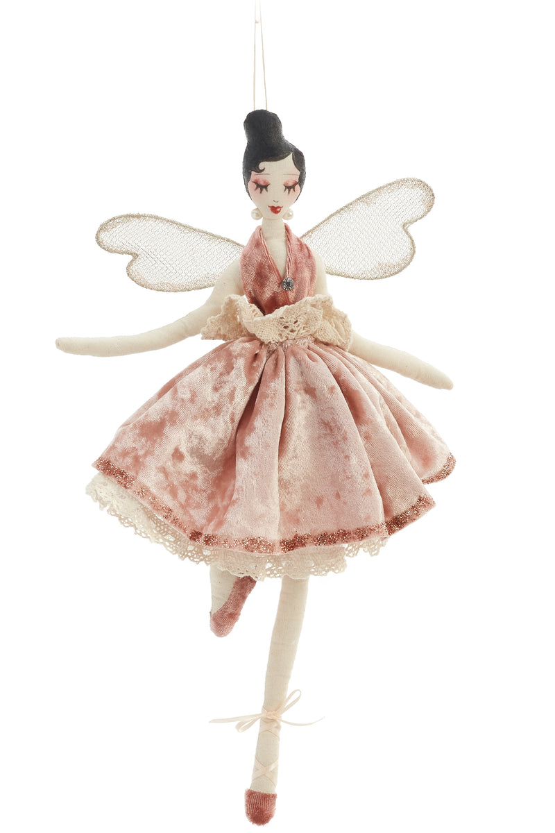 Ballerina Fairy Ornament