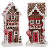 Lighted Gingerbread Holiday House